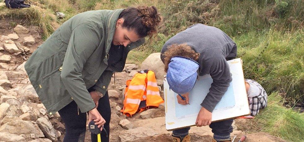 Swartigill Excavation Diary Header