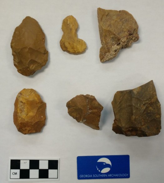 Piedmont & Fall Line Chert, yellow in color.