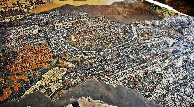 The Holy Land Translated into a Mosaic