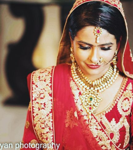 High Definition Gujarathi wedding look