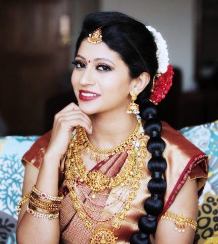Hindu Bridal Make Up using MAC
