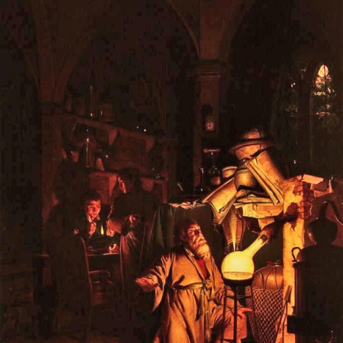 Joseph Wright Alchemist