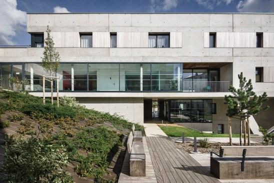 Les Hallates Senior Housing / Agapé