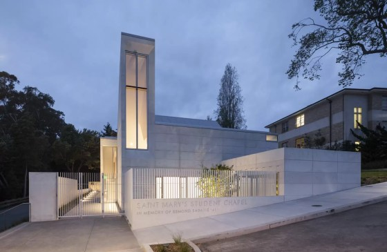 Chapel for Saint Mary's / Mark Cavagnero Associates