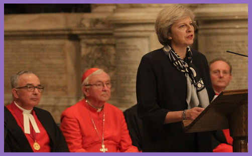 Image result for theresa may religious