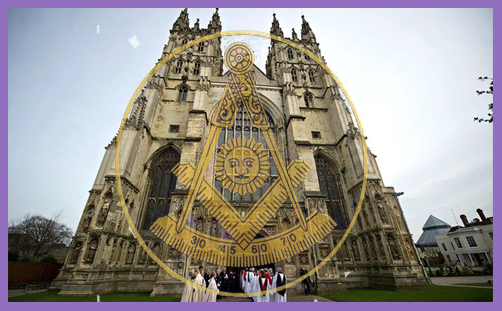 Freemasons at Canterbury Cathedral: the hidden Masonic ritual in the Order of Service