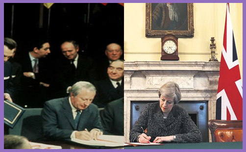 May invokes Article 50: may our second national revolution be as glorious as the first
