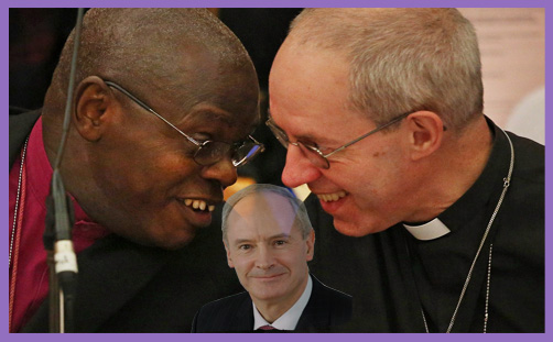 Bishop of Sheffield: Martyn Percy asked for bread; Sentamu and Welby give a stone