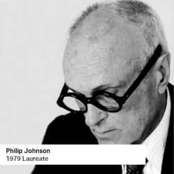 Philip Johnson 1979 Laureate