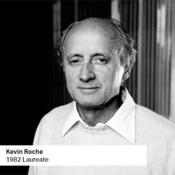 Kevin Roche 1982 Laureate