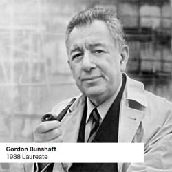 Gordon Bunshaft 1988 Laureate