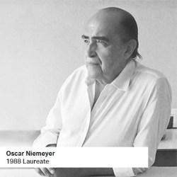 Oscar Niemeyer 1988 Laureate