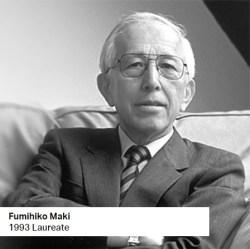 Fumihiko Maki 1993 Laureate