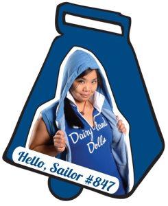 Dairyland Dolls' Co-Captain Hello, Sailor. Image Credit: Mad Rollin' Dolls