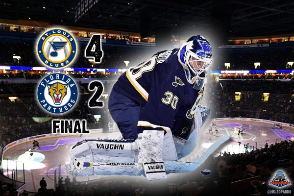Martin Brodeur Gets Win Number 690 As The Blues Defeat Florida