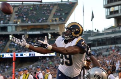Cook has been nothing but a huge disappointment since signing with the Rams in 2013.