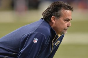 Fisher has been given too many chances to take this Rams team to be a playoff contender. Photo via Getty Images.
