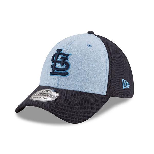 finest selection cf8e9 e3cc6 St. Louis Cardinals New Era 2018 Father s Day 39THIRTY Flex Hat – Light Blue
