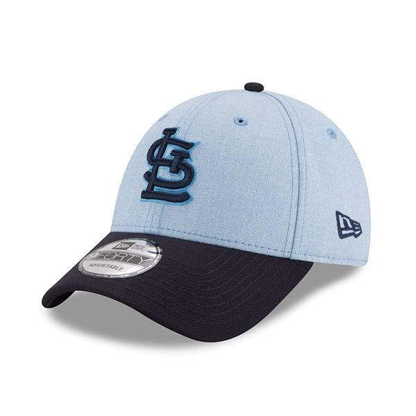 san francisco 31324 2d4c5 St. Louis Cardinals New Era 2018 Father s Day 9FORTY Adjustable Hat