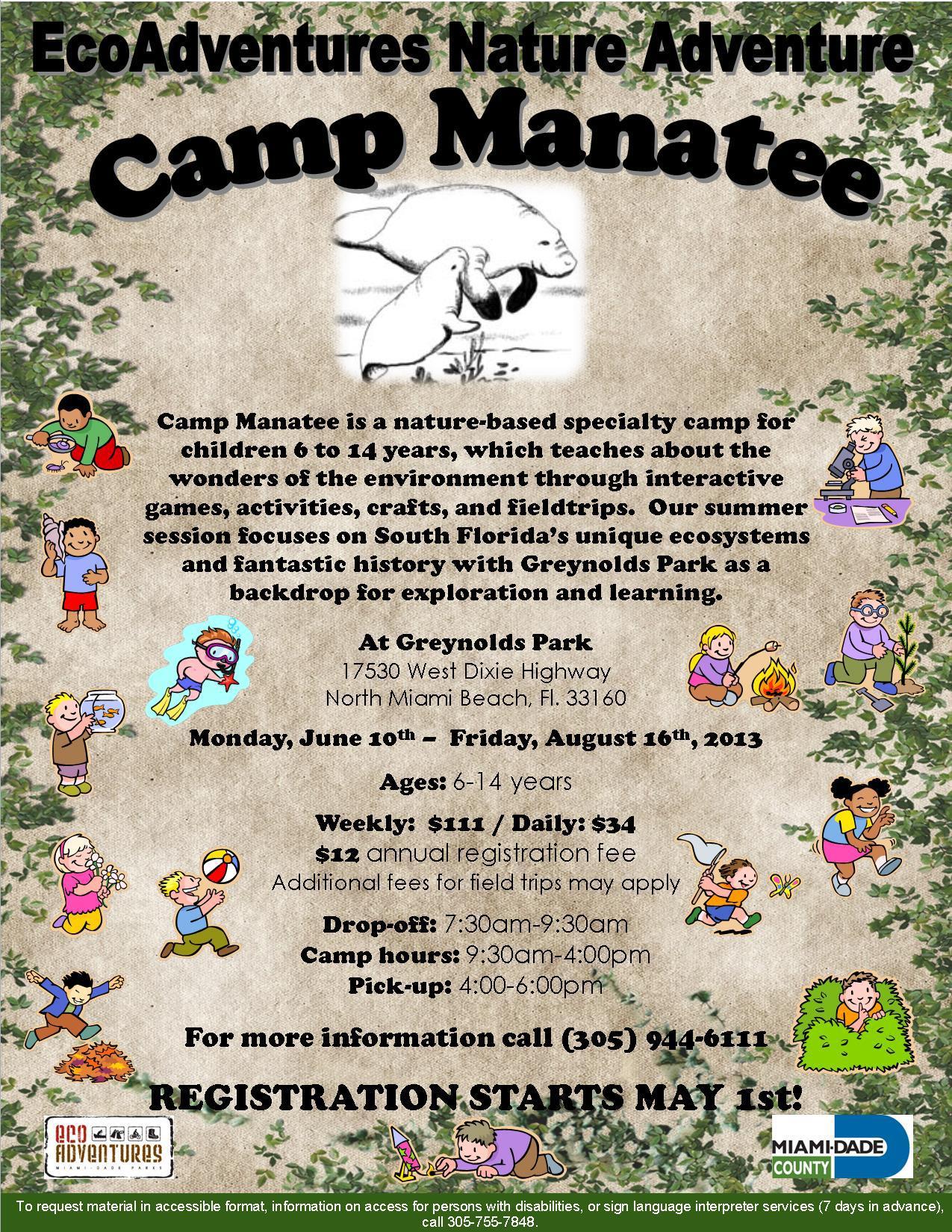 Greynolds Park Summer Camp