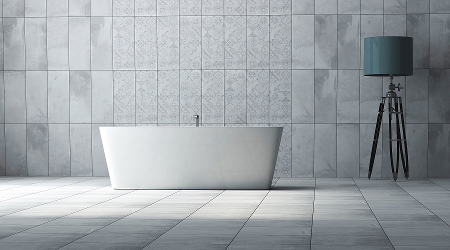 concrete floor tiles tile flooring