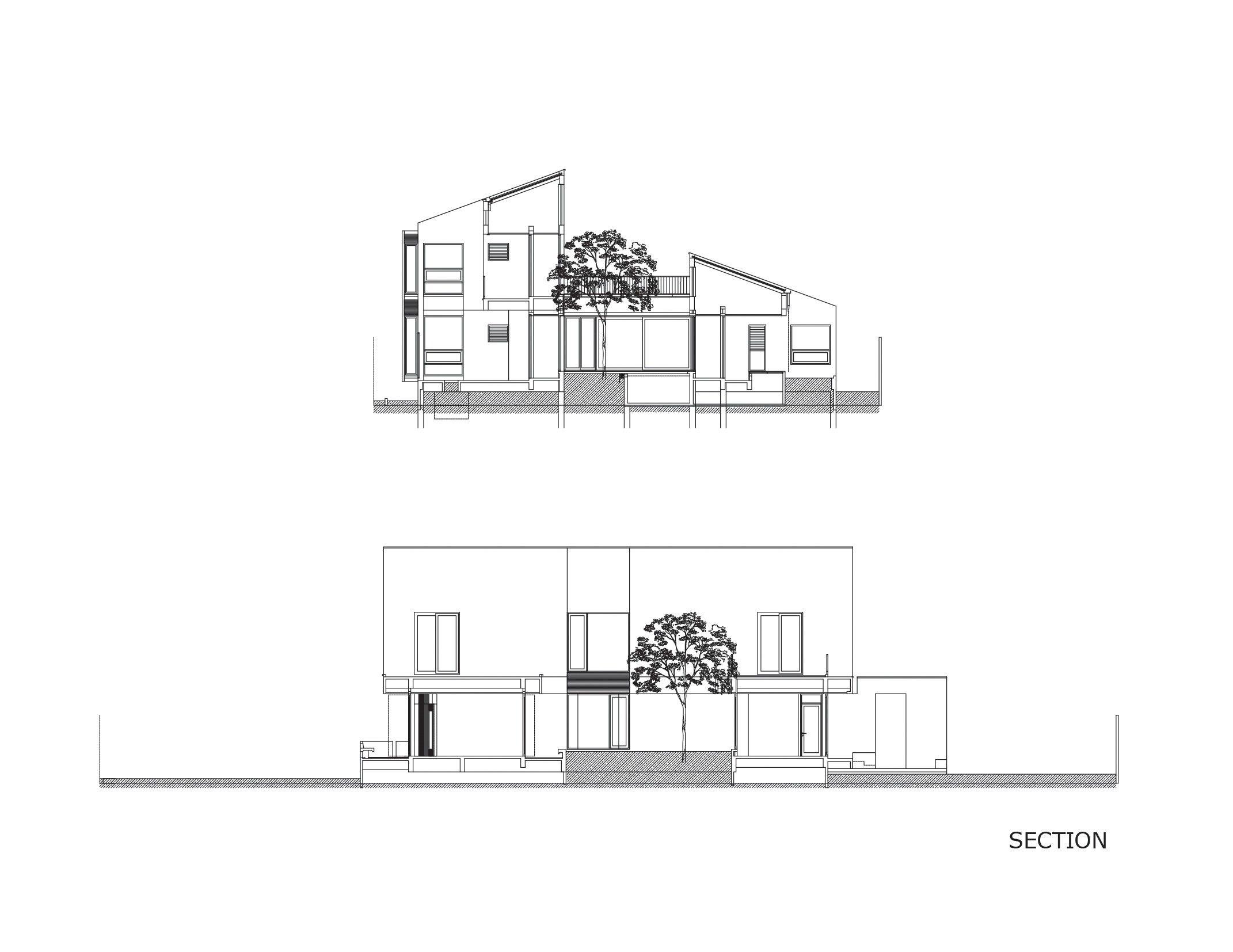 Multiple Courtyard House
