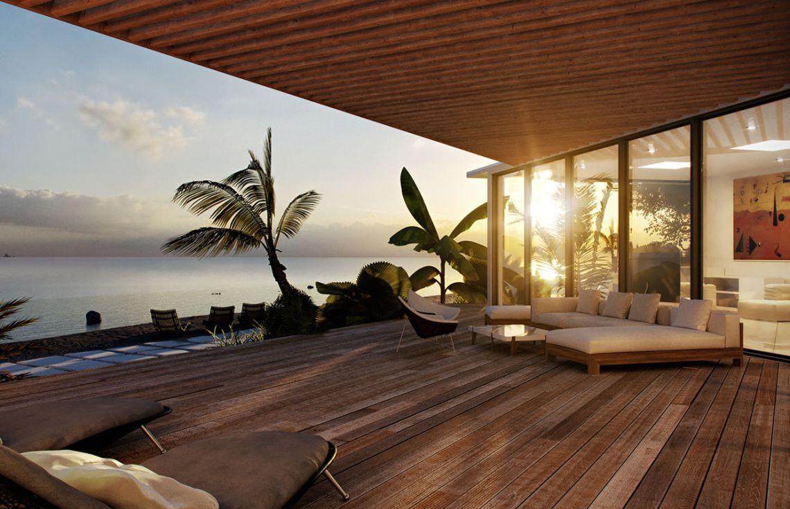 Modern Beach House Design | Comelite Architecture ...