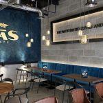 Industrial Cafe Design Bas Cafe Comelite Architecture Structure And Interior Design Archello