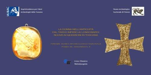 La donna nell'antichità - locandina