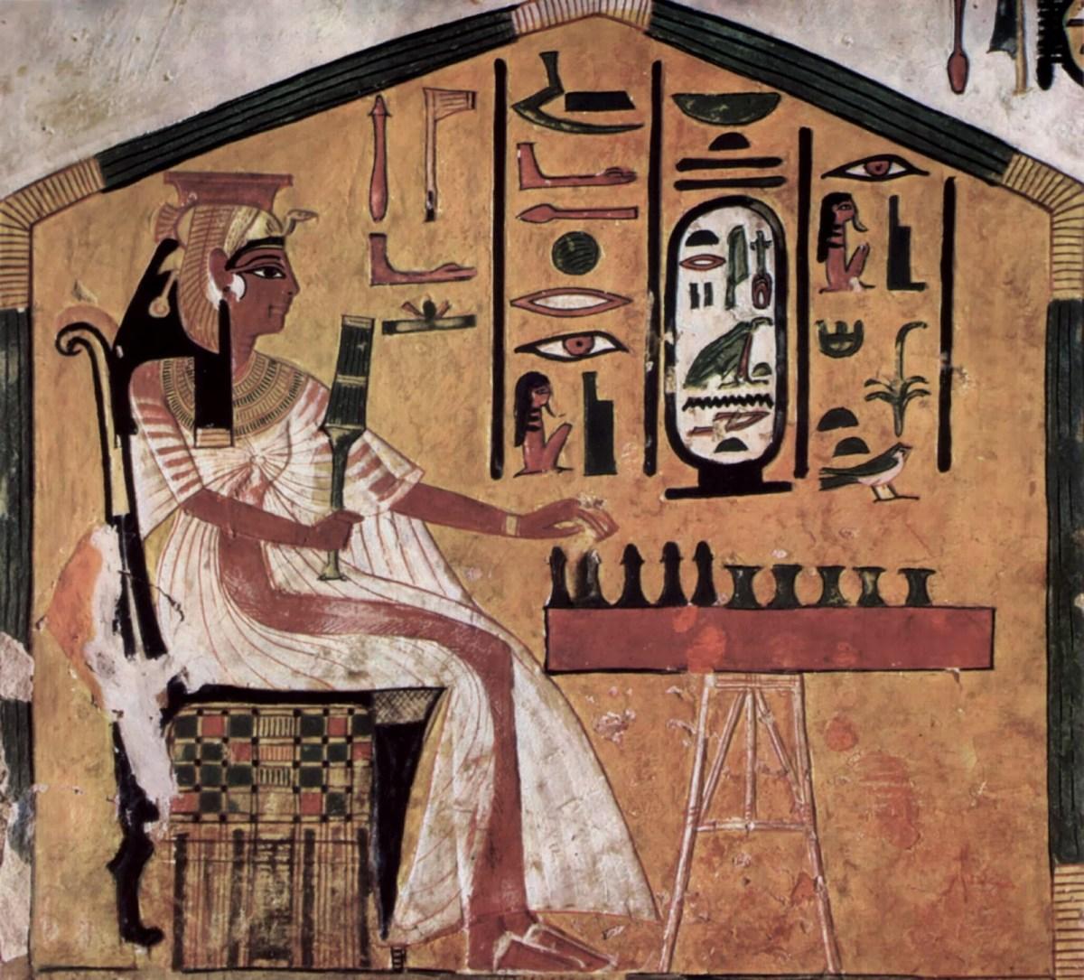 Identification des restes de la momie de Nefertari