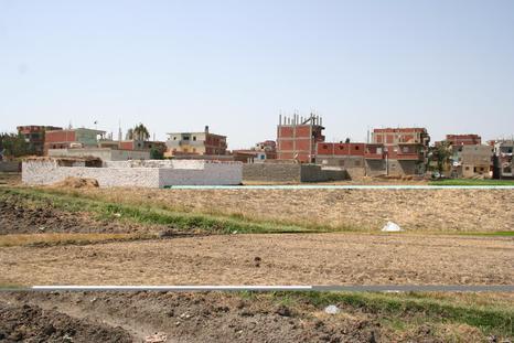 Fouilles d'un édifice monumental dans la capitale de Ramsès II
