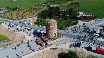 mausolée sauvé des eaux Turquie