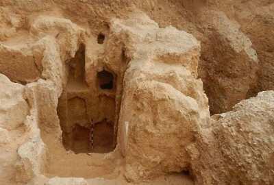 Tombe rupestre hellénistique découverte à Alexandrie