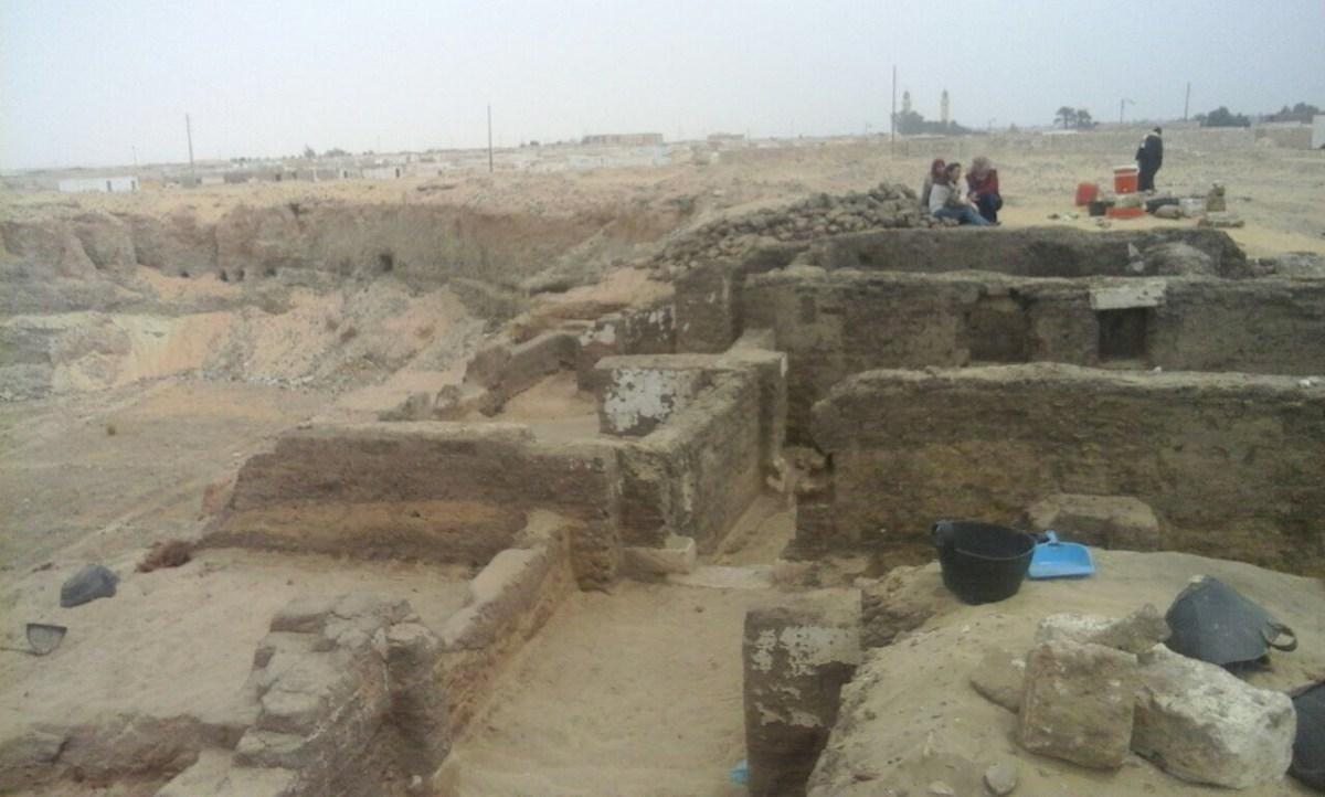 Les restes d'un complexe monastique copte du Ve siècle découverts à Oxyrhynque en Egypte