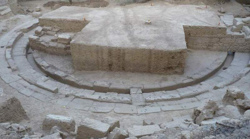 théâtre grec antique Thouria Grèce