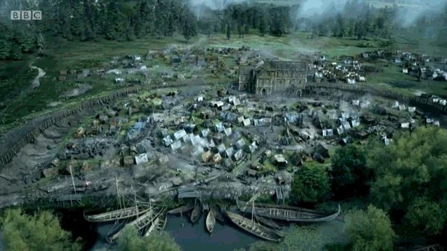 Camp viking des années 870 fouillé à Repton en Angleterre