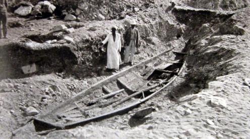 barque funéraire pharaon Sésostris III Dahchour