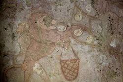 singe-fruits-tombe-heptet-guizeh-egypte