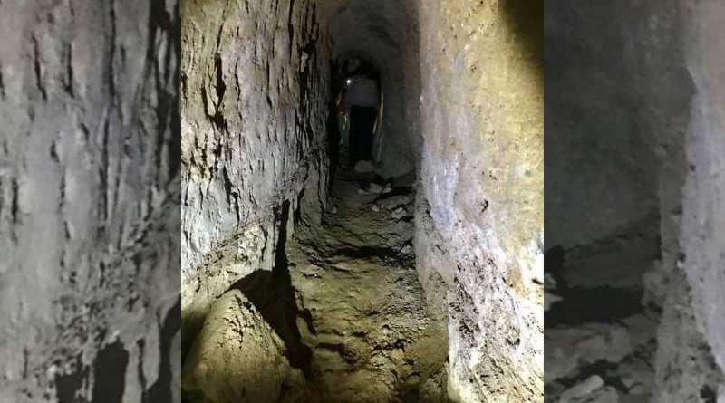 tunnels Daesh palais assyrien Mossoul