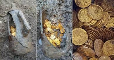 trésor romain