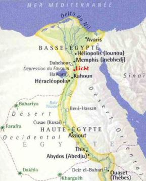 carte-egypte-moyen-empire-fayoum