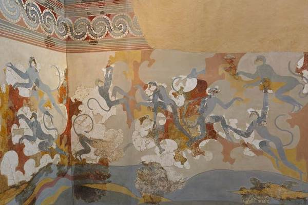 fresque-akrotiri-santorin-thera-singes