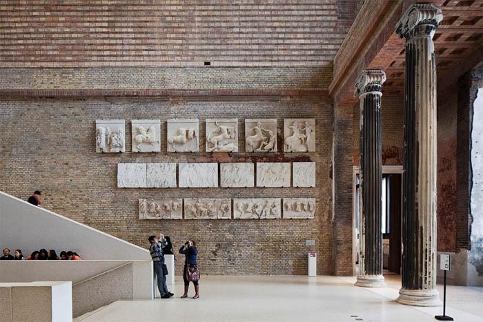 Naujasis muziejus 2011 m. Šaltinis: http://interlab100.com/2014/05/19/neues-museum-david-chipperfield-architects/