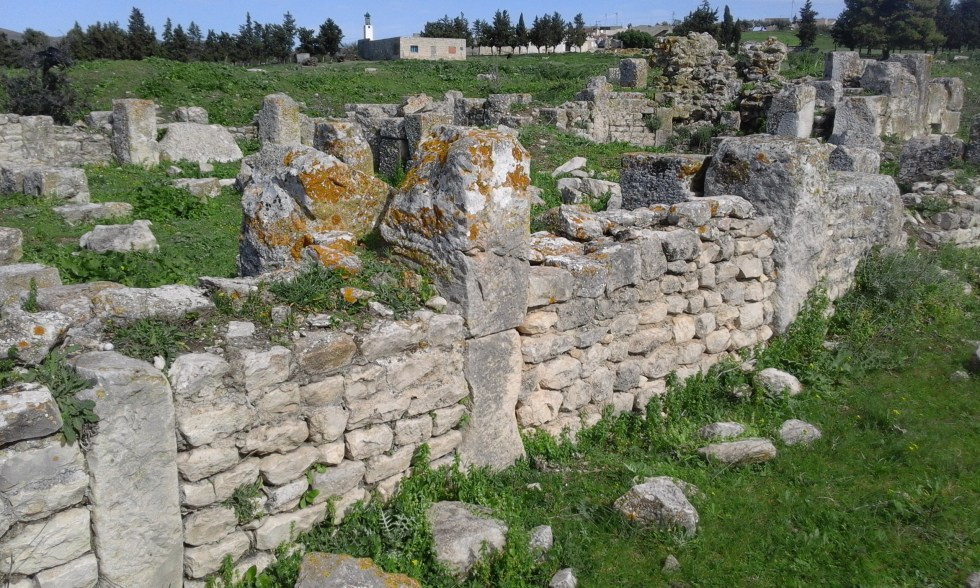 Basilique chretienne Belalis Maior