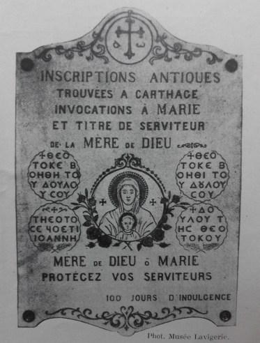 Litanies N.D. Carthage Tunis