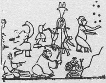 jongleur chinois (4500 av. J.-C.)