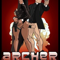 Archer is ready to fuck any nun!