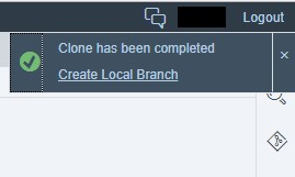 CloneCompleted