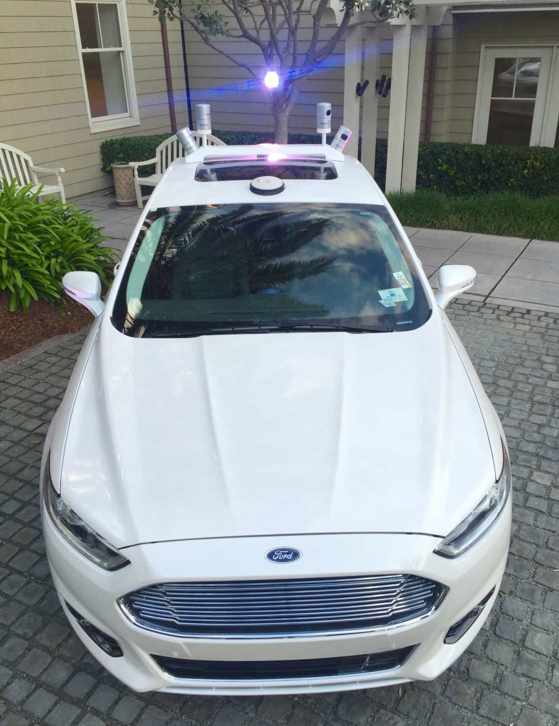 Ford_Autonomous_Test_Vehicle