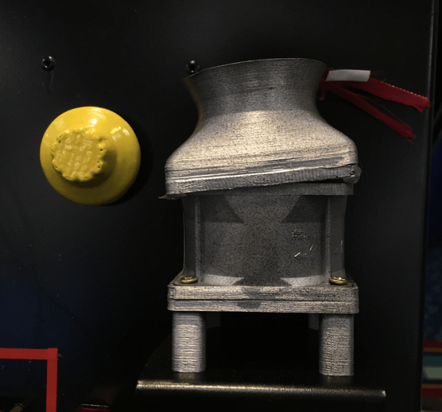 a model of a nuclear plant cooling fan